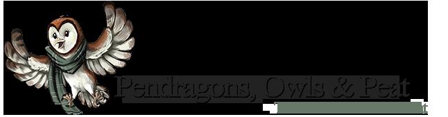 Pendragons, Owls & Peat Logo